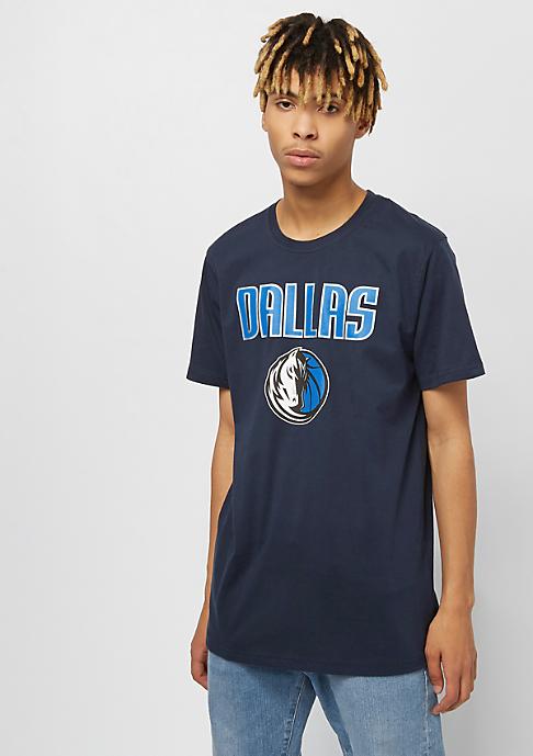 New Era NBA Team Logo Tee Dallas Mavericks blue