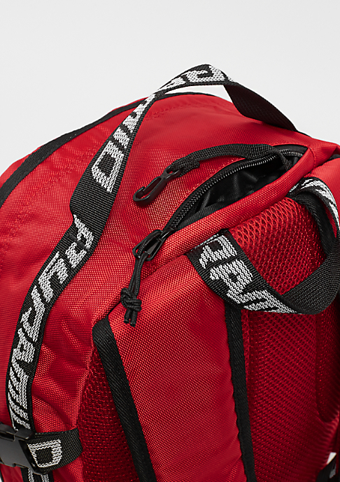 Black Pyramid Backpack red