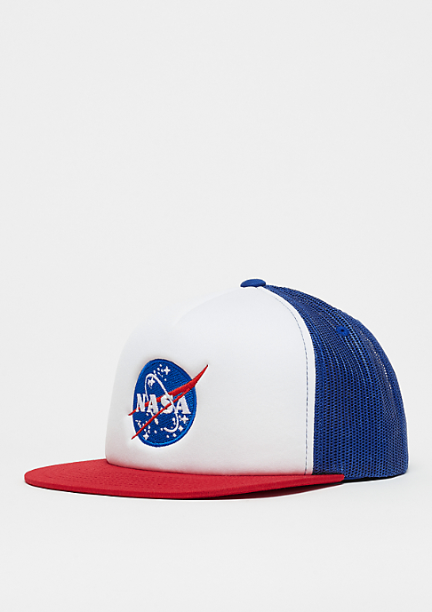Mister Tee NASA Trucker Cap red/white/royal