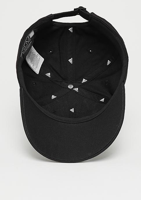 adidas 6P 3S Cap Cotto black/white/white