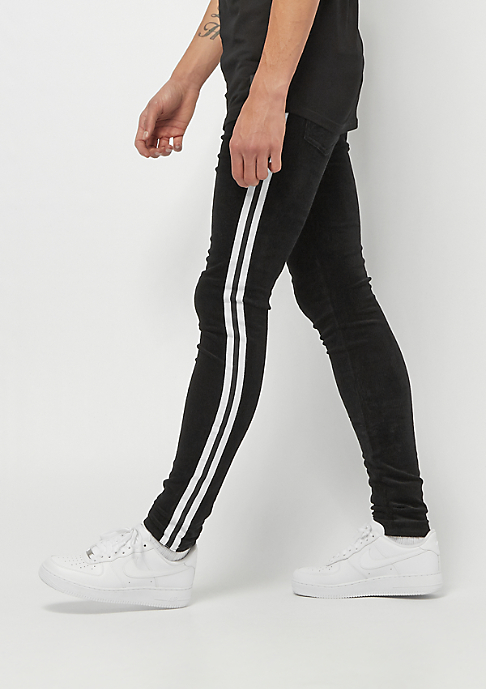 Sixth June Corduroy Pants With Bands black