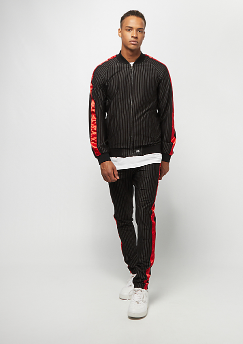 Sixth June Stripes Baseball Jacket black
