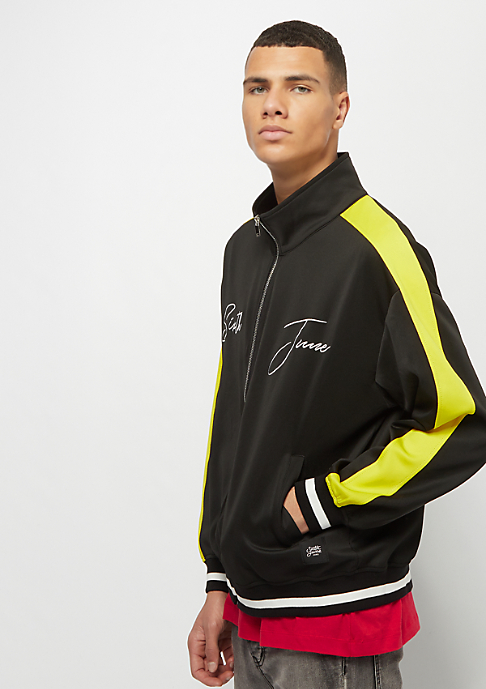 Sixth June Tracksuit Jacket with Bands black