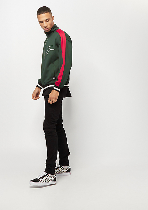 Sixth June Tracksuit Jacket with Bands green