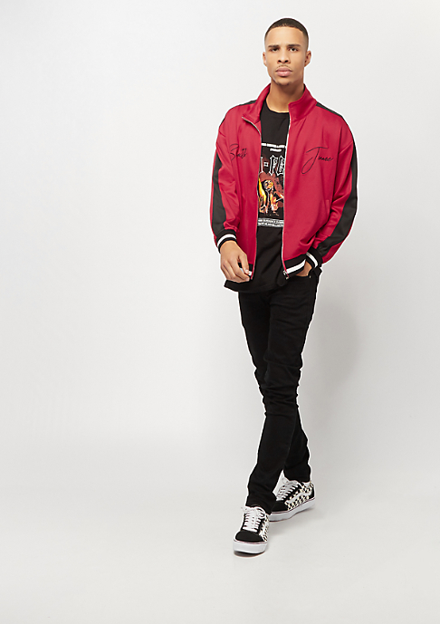 Sixth June Tracksuit Jacket with Bands red
