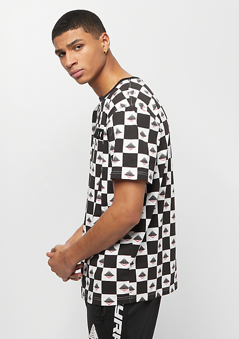 Black Pyramid PYRAMID CHECKER Tee black