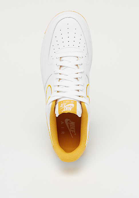 NIKE Air Force 1 '07 Leather white/yellow ochre