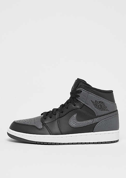 JORDAN Air Jordan 1 Mid black/dark grey/summit white