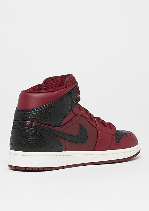 JORDAN Air Jordan 1 Mid team red/black/summit white