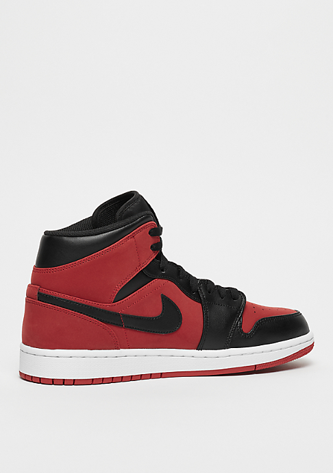 JORDAN Air Jordan 1 Mid gym red/black/white