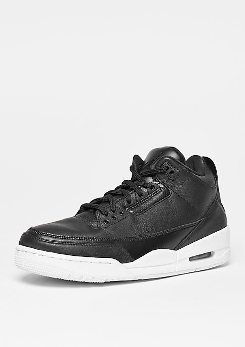 JORDAN Basketballschuh Air Jordan 3 Retro black/black/white