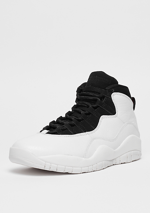 JORDAN Air Jordan Retro X summit white/summit white/black