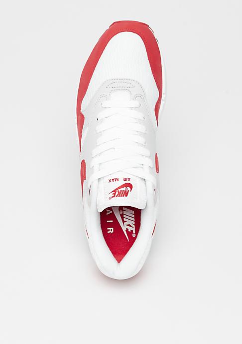 NIKE Air Max 1 Anniversary white/university red-neutral G