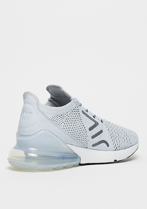 NIKE Air Max 270 Flyknit pure platinum/black/dark grey