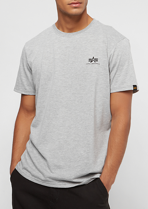 Alpha Industries Basic Small Logo grey heather