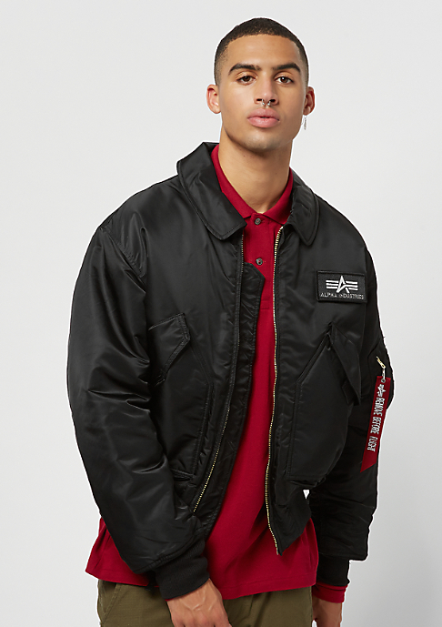 435105d2a5ac Alpha Industries CWU 45 black Jacke bei SNIPES