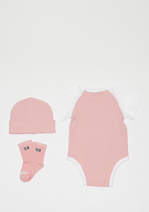 SNIPES Baby Clothes Set rose/white