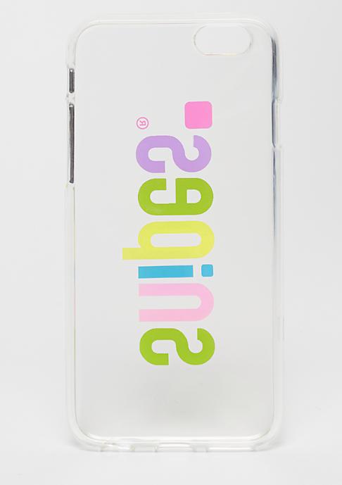 SNIPES Basic Case Rainbow Basic Logo Case iPhone 6s transparent