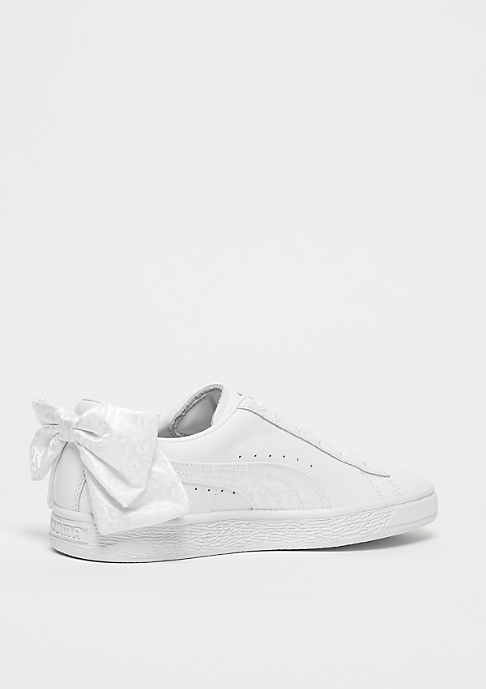 Puma Basket Bow Animal puma white-puma aged silver