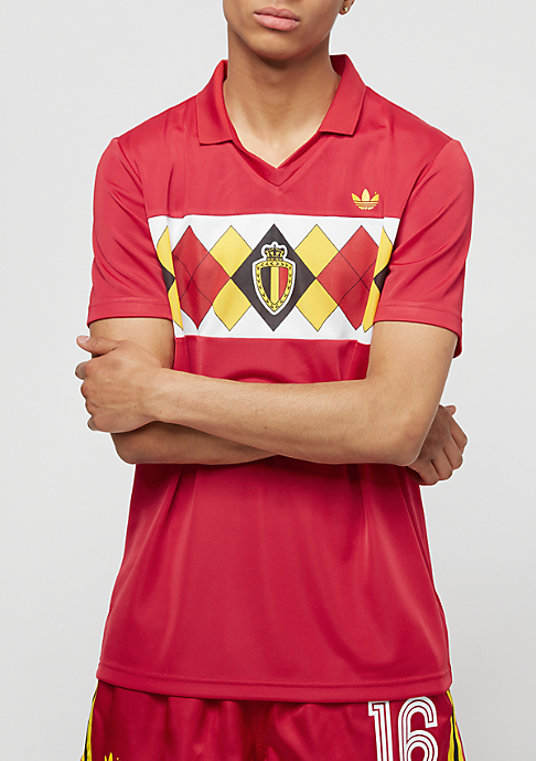 adidas Belgium Jersey victory red