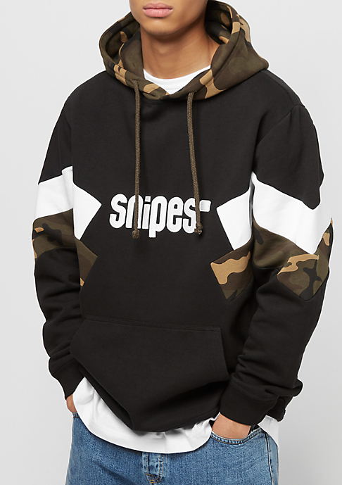SNIPES Block Basic Logo black/camo/white