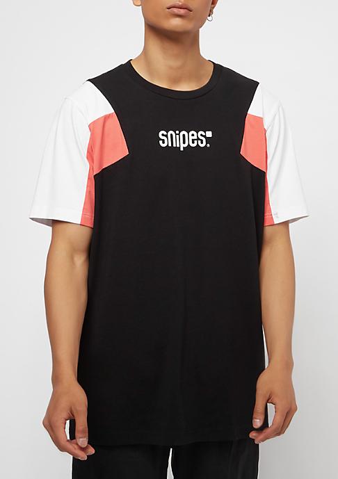 SNIPES Block Small Basic Logo black/white/red