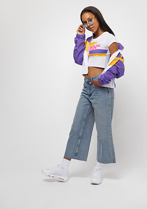 SNIPES Block Trackjacket purple/yellow/white