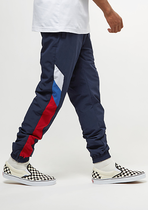 SNIPES Block Trackpants navy/white/red