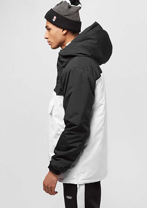 SNIPES Block Windbreaker black/white