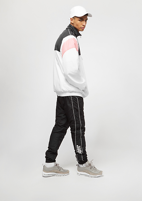 SNIPES Block Windbreaker white/black/pink