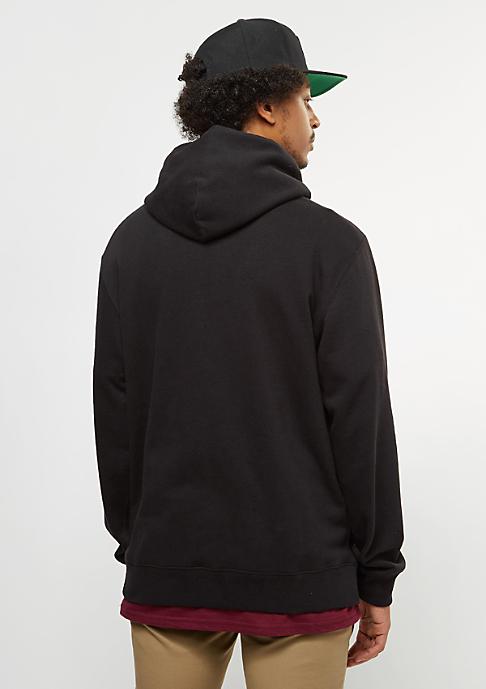 Brixton Trig Zip Hood Fleece black