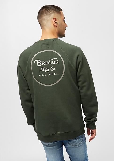 Brixton Wheeler Intl Crew pine
