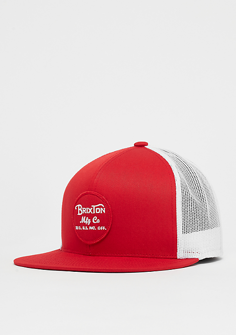 Brixton Wheeler Mesh red/white