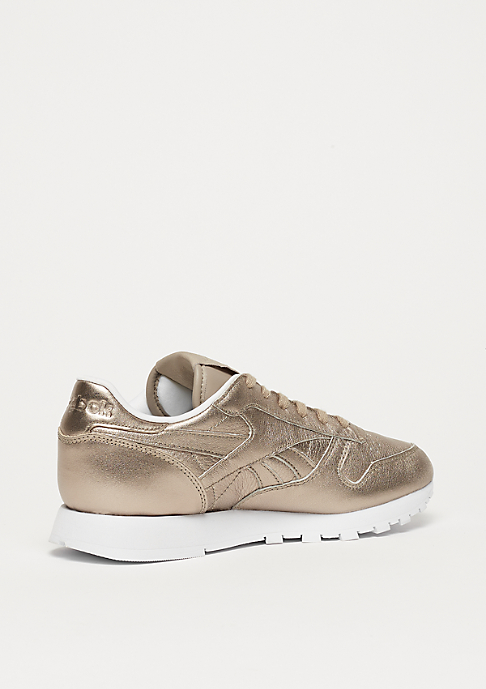 Reebok CL LTHR L pearl met / grey gold / white