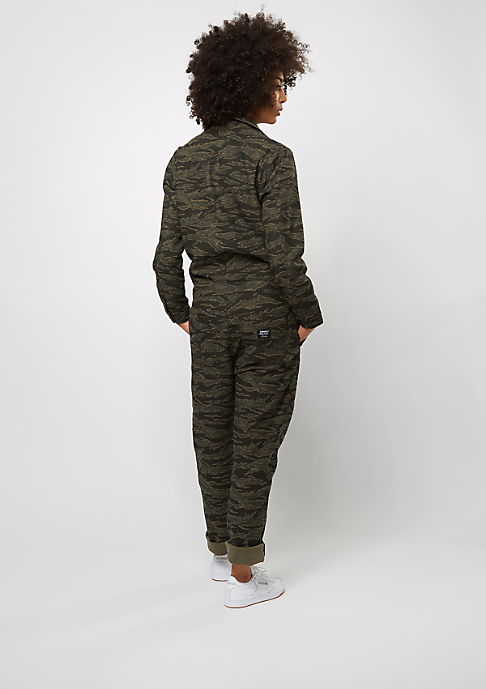 Carhartt WIP Camden Coverall camo tiger stone washed