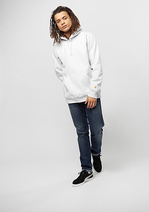 Carhartt WIP Hooded-Sweatshirt Chase ash heather/gold