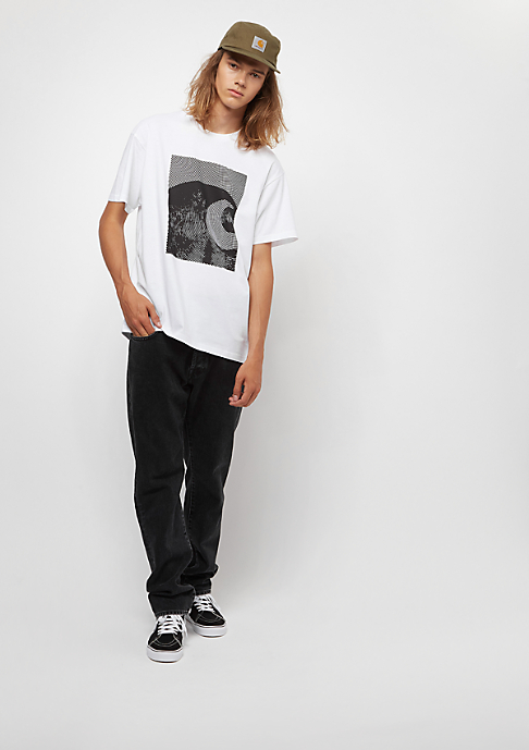 Carhartt WIP Circles white/black