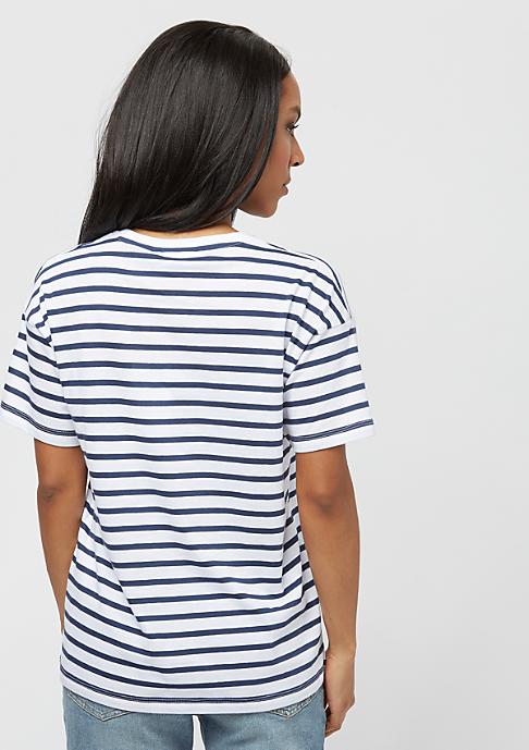 Carhartt WIP Robie robie stripe/white/blue/goji