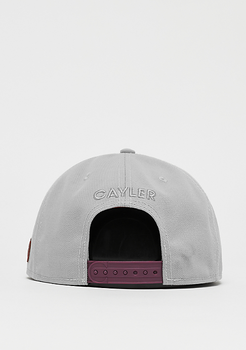 Cayler & Sons WL Power Cap grey/maroon
