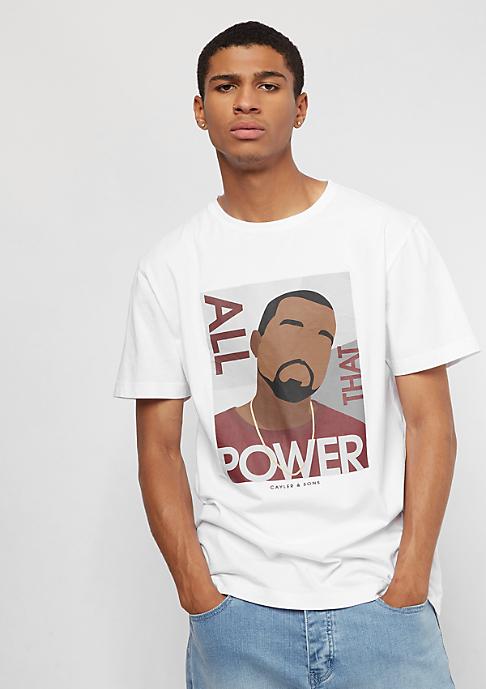 Cayler & Sons WL Power Tee white/mc
