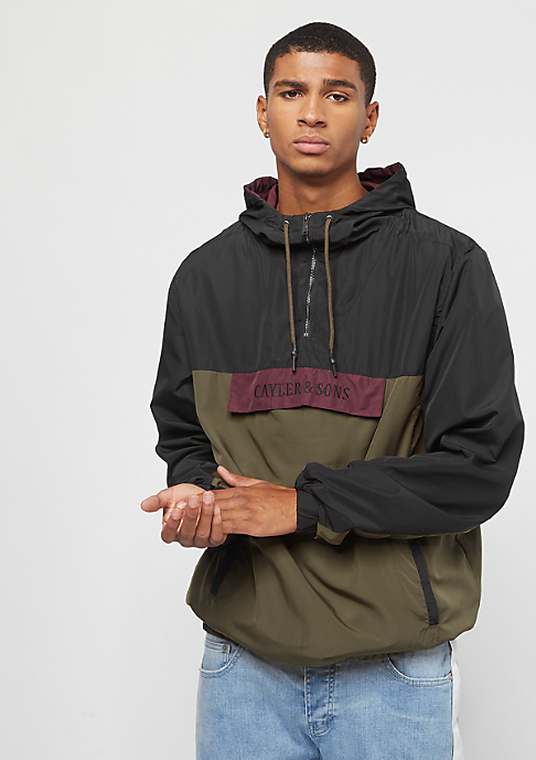 Cayler & Sons WL Anchored Zip Anorak black/olive