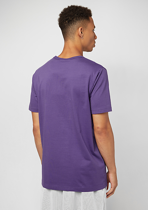 SNIPES Chest Logo purple