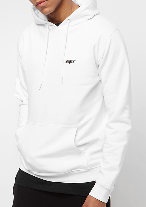 SNIPES Chest Logo white