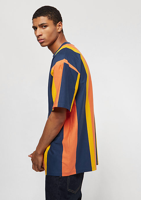 Karl Kani College Stripes navy/orange/yellow