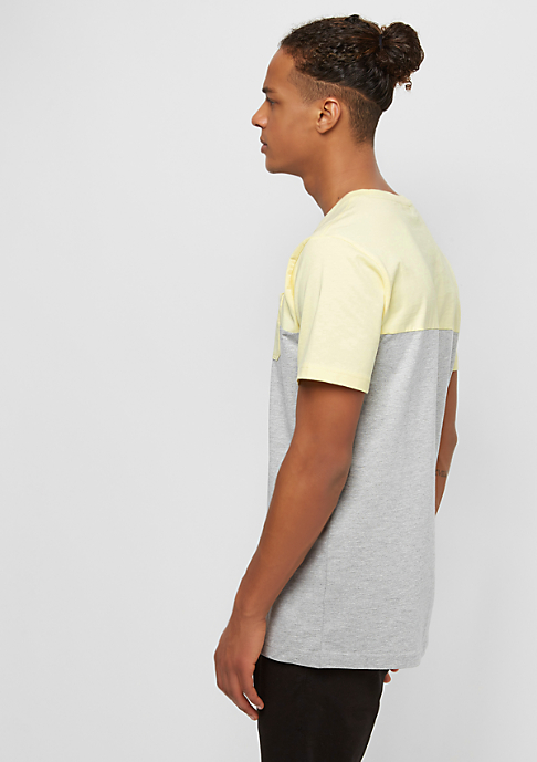 Urban Classics Color Block grey/powderyyellow