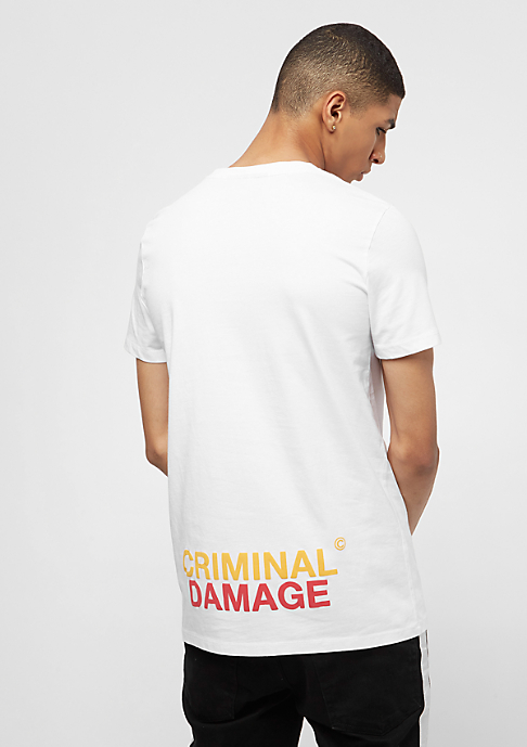 Criminal Damage Beast white/multi