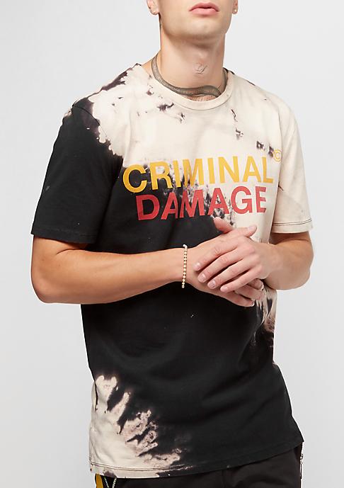 Criminal Damage Blech Tee black/tan
