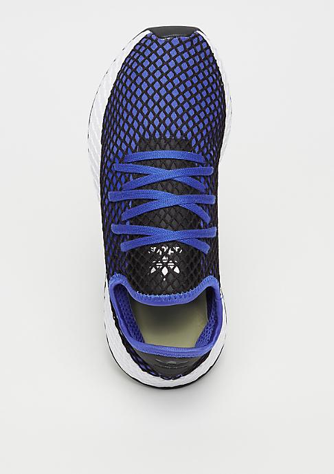 adidas DEERUPT RUNNER blue/blue/black