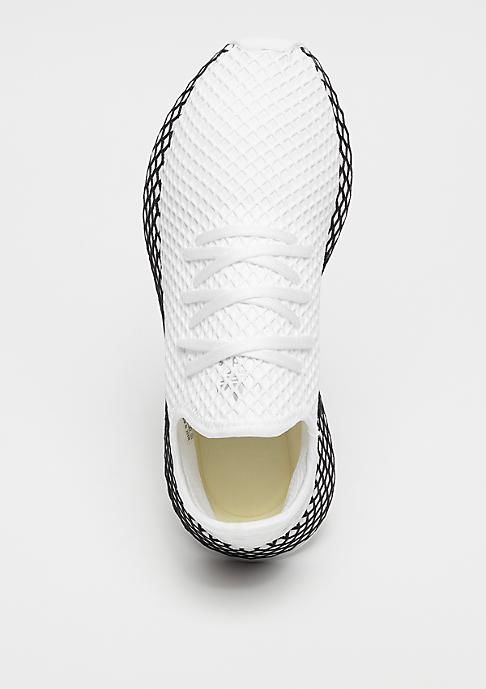 adidas DEERUPT RUNNER white/white/black