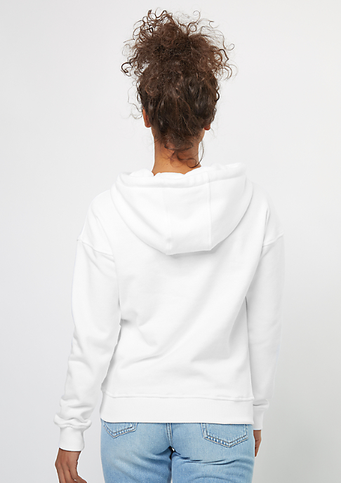 Urban Classics Hooded-Sweatshirt Ladies white